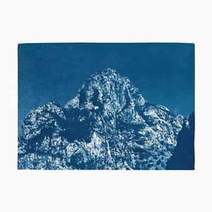 Yosemite Blue Mountain, 2019, Cyanotype