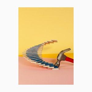Ryan Rivadeneyra, Oscar Niemeyer Staircase # 7, 2013, Giclée Druck