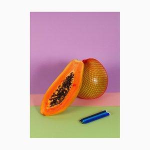 Ryan Rivadeneyra, Burnt Orange Papaya, 2013, Giclée Print