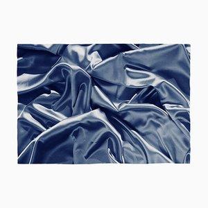 Classic Blue Silk Band, Cyanotype, 2019