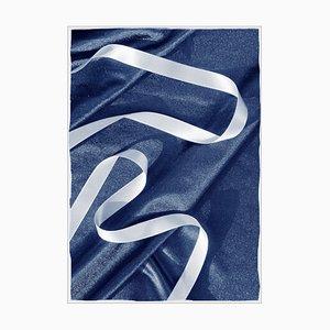 Classic Blue Cloth with Ribbon, Deep Blue Print 2019