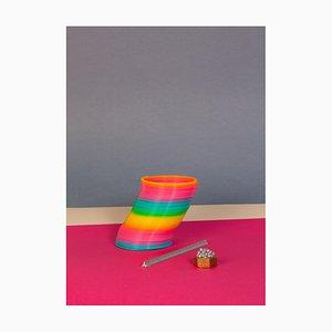 Ryan Rivadeneyra, Naif Still Life Playground, 2013, Giclée Print