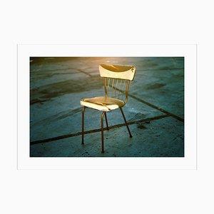Ryan Rivadeneyra, Antique Industrial Chair, 2019, Giclée Print