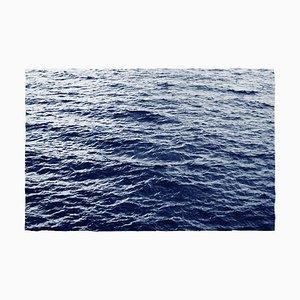 Boundless Ocean Waves, Blue Sunprint, 2019