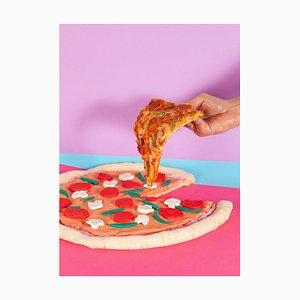 Ryan Rivadeneyra, Still Life Pizza, 2013, Giclée Druck