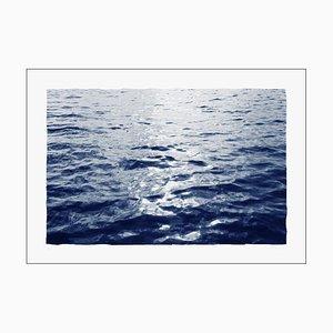 Bright Sunrise Bay, Cyanotype on Paper, 2020