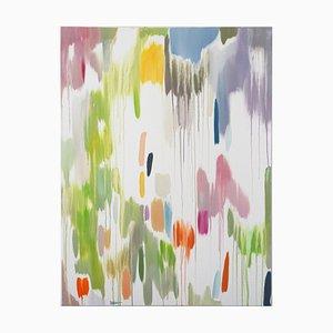Natalia Roman, Tropical Vines Palette, Oil on Canvas, 2016