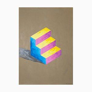 Scala Sol Lewitt con colori misti Naif Architecture, 2020