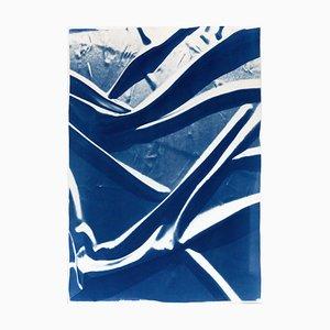 Composition de tissu lisse, aquarelle, 2019