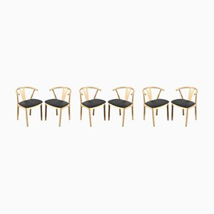 Dining Chairs by K. Høffer-Larsen, 1960s, Set of 6