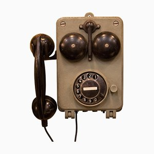 Sound Powered Telephone from Fernsig Essen, 1950s