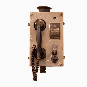 APK Sound Powered Telephone from Telos Krakow, 1950s