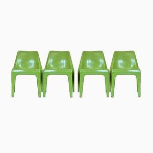 Chaises de Jardin par Albert Brokopp de Wesifa, 1960s, Set de 4