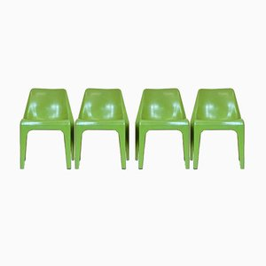 Garden Chairs by Albert Brokopp from Wesifa, 1960s, Set of 4