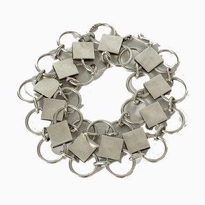 Silbernes Armband von Sigurd Persson für Atelier Borgila, 1940er