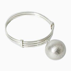 Silver Bracelet by Elis Kauppi for Kupittaan Kulta, 1970s