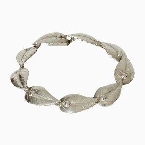 Silbernes Armband von Atelier Borgila, 1950er