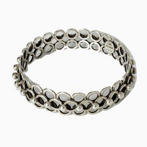 Silver Bracelet by Hermann Ole Jacobsen, 1950s