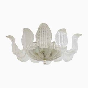 Italian Murano Glass Chandelier from Barovier & Toso, 1960s