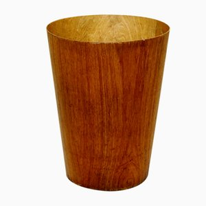 Teak Paper Basket from Servex, 1960s