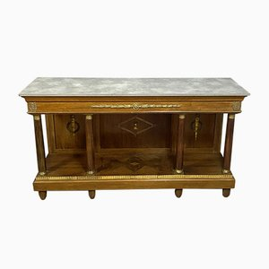 Empire Console Table with Gilt Bronze Decorations