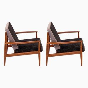 Armlehnstühle von Grete Jalk für France & Søn / France & Daverkosen, 1960er, 2er Set