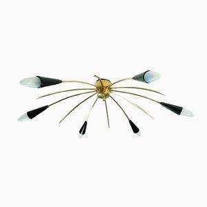 Mid Century Sputnik Chandelier