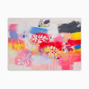 Pintura botánica 1 (pintura abstracta) 2020