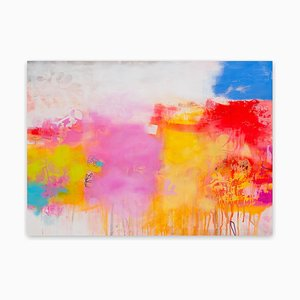 The Scope of pure vividness 1 (Abstract painting) 2020