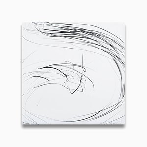 Small maelstrom (Ref 855) (Abstract work on paper) 2009