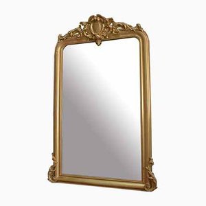 Louis Philippe/Napoleon III Golden Wood Mirror