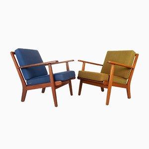 Dänische Vintage Sessel von Aage Pedersen für Getama 1960er, 2er Set
