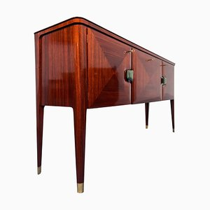 Mid-Century Italian Modern Rosewood Sideboard by Vittorio & Plinio Dassi, 1950s