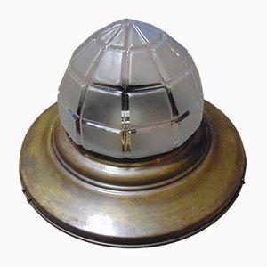 Vintage Pre-War Art Deco Ceiling Lamp