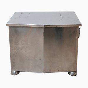 Mid-Century Modernist Metal Coal Bucket