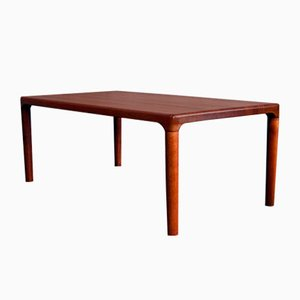 Danish Solid Teak Coffee Table by Niels Bach