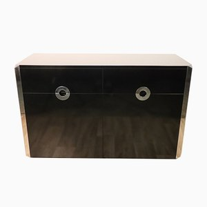 Lacquered Wood and Metal Buffet from Mario Sabot, 1970s