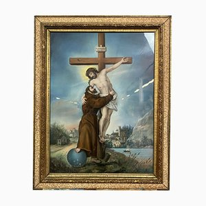 Kreuzigung, 1896, Pastell