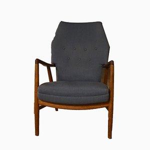 Mid-Century Teak Armchair by Kurt Olsen for Slagelse Møbelværk