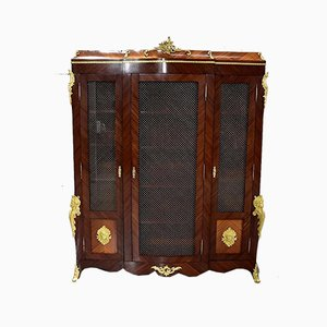 Louis XV Mahogany Wall Unit