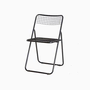 Silla plegable de Niels Gammelgaard para Ikea, años 70