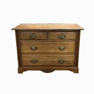 Vintage English Walnut Chest of Drawers