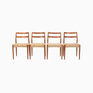 Dining Chairs by Johannes Andersen for Uldum Møbelfabrik, 1960s, Set of 4