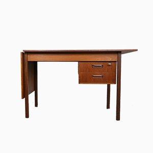 Verstellbarer Teak Schreibtisch von Arne Vodder, 1950er