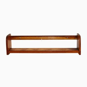 Swedish Teak Wall Shelf from Holmbergs, 1960s
