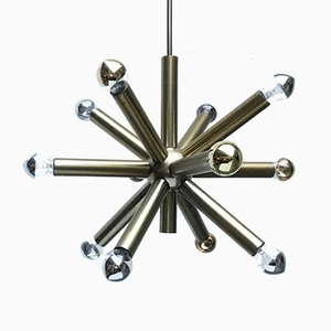 German Space Age Atomic Sputnik Chandelier