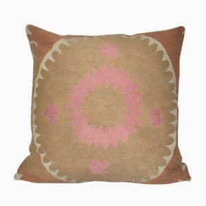 Handmade Samarkand Uzbek Suzani Textile Cushion Cover