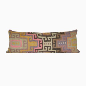 Multi Colored Queen Boho Bedding Kilim Cushion Cover
