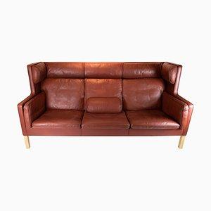 Kuppe Modell 2193 3-Sitzer Sofa von Børge Mogensen für Fredericia, 1970er
