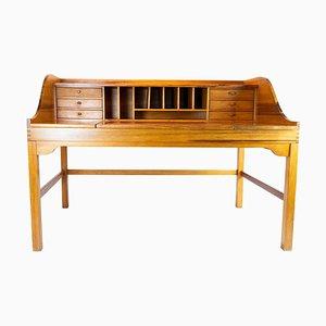 Oregon Pine Desk by Andreas Hansen for Hadsten Traeindustri, 1960s
